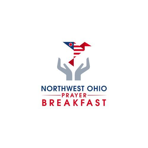 logo concept for prayer breakfast in ohio
