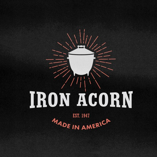Logo concept for an American BBQ company