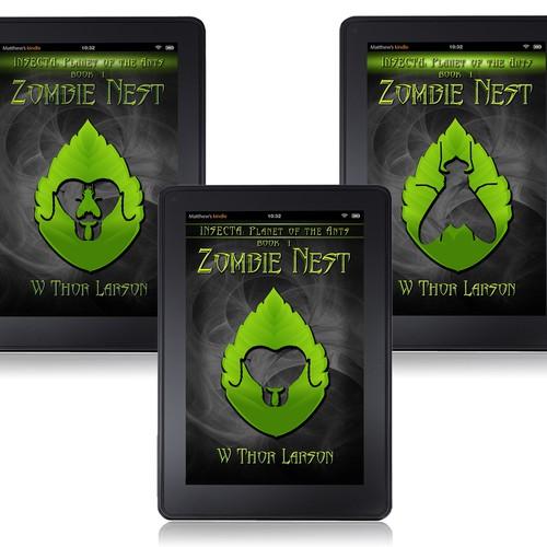 Zombie Nest e-book cover concept