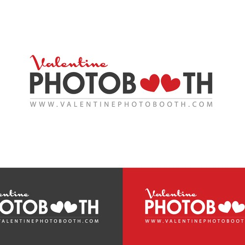 Please create a new Logo for Valentine Photobooth