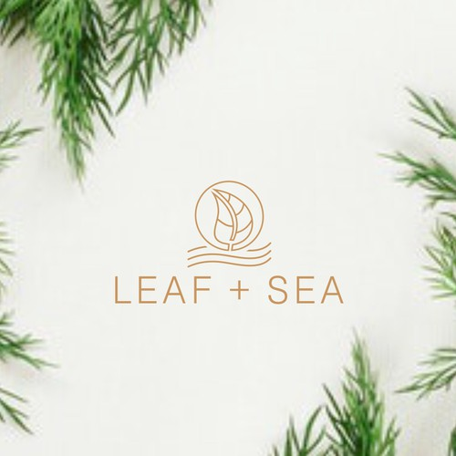 Leafe and sea
