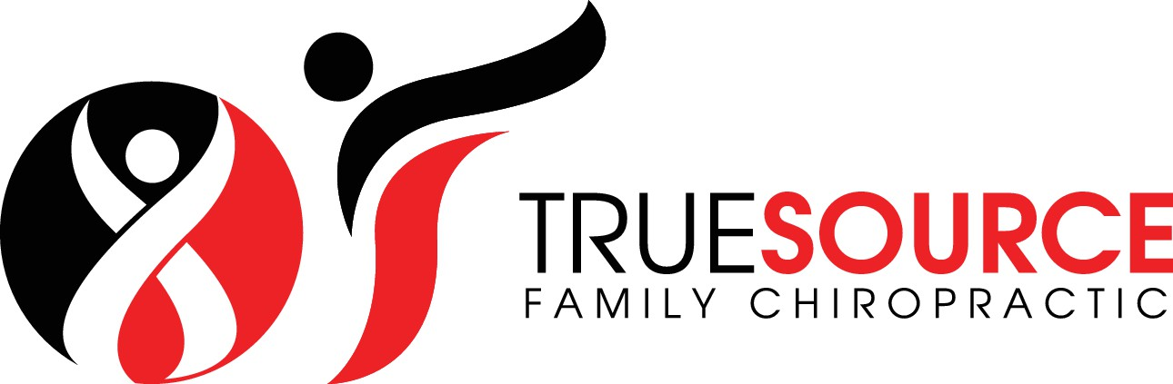 Create a vibrant logo for True Source Chiropractic