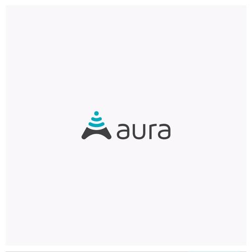 logo concept for aura