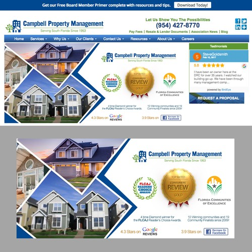 Campbell Property Management Banner