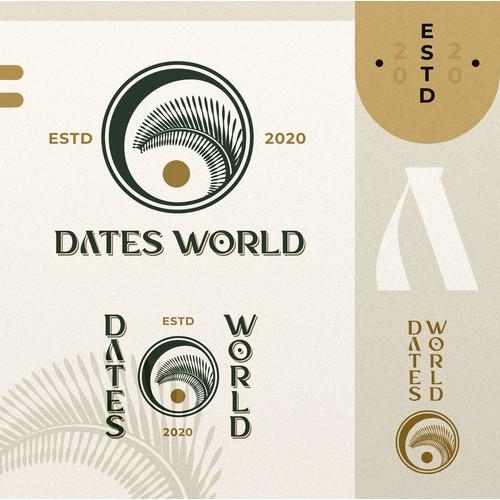 Dates/Palm Illustration logo
