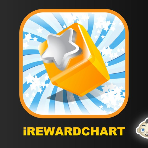 Design our very first iPhone app (iRewardChart) logo.