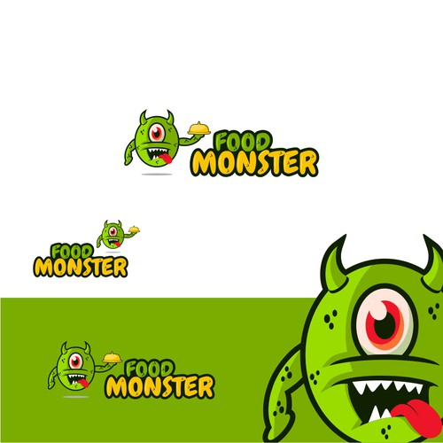 Playful Monster Logo