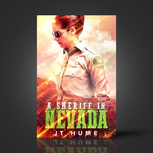 Book cover for Fiction Thriller novel