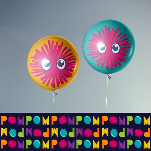 Logo and Brand Guide for Pom Pom Play & Party