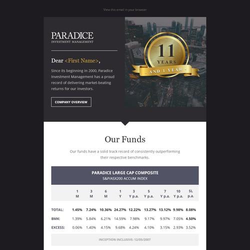 Paradice - 11 years performance history #2
