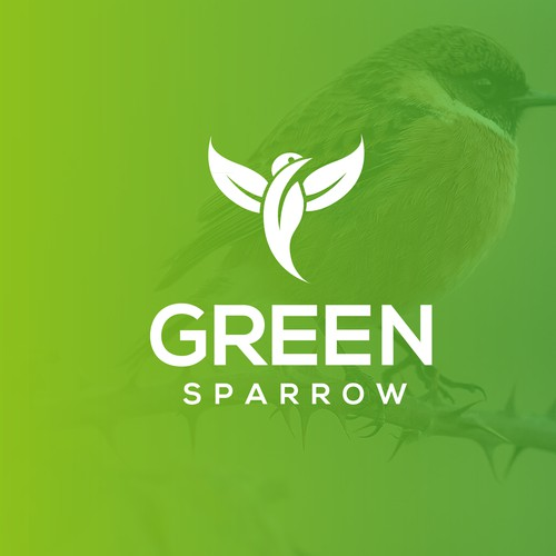 green sparow