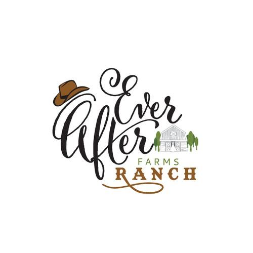 Wedding Barn on a Big Ranch Logo