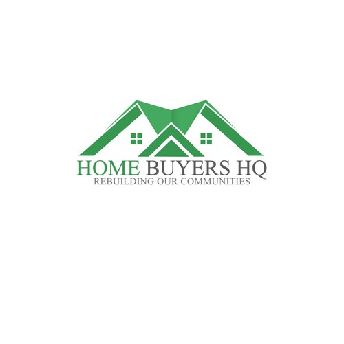 Help Home Buyers HQ (HeadQuarters) with a new logo