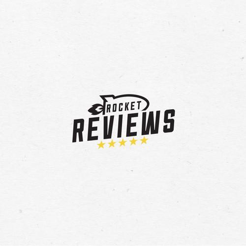 Concept logo for Rocket Reviews