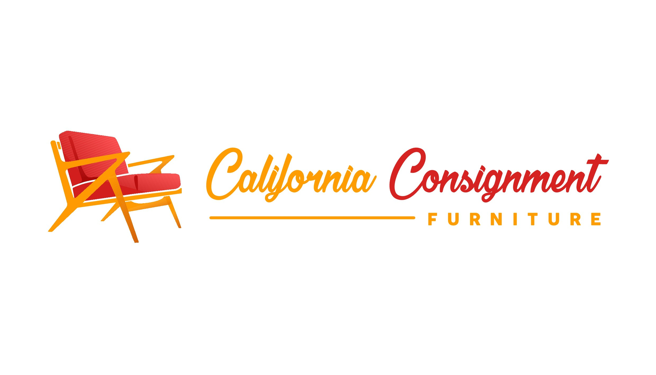 Create the logo for a fresh, professional furniture consignment store in California