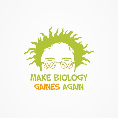 Make Biology Gaines Again logo