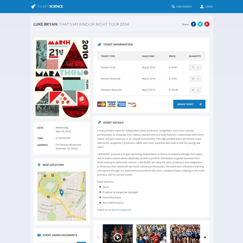 Create a FUN event and checkout page with personality!