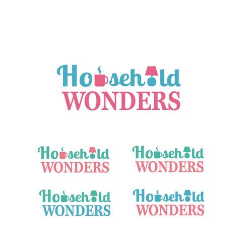 bold logo concept for household