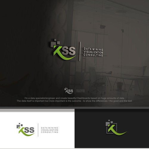 Corporate Design for a Business Intelligence Consulting Company