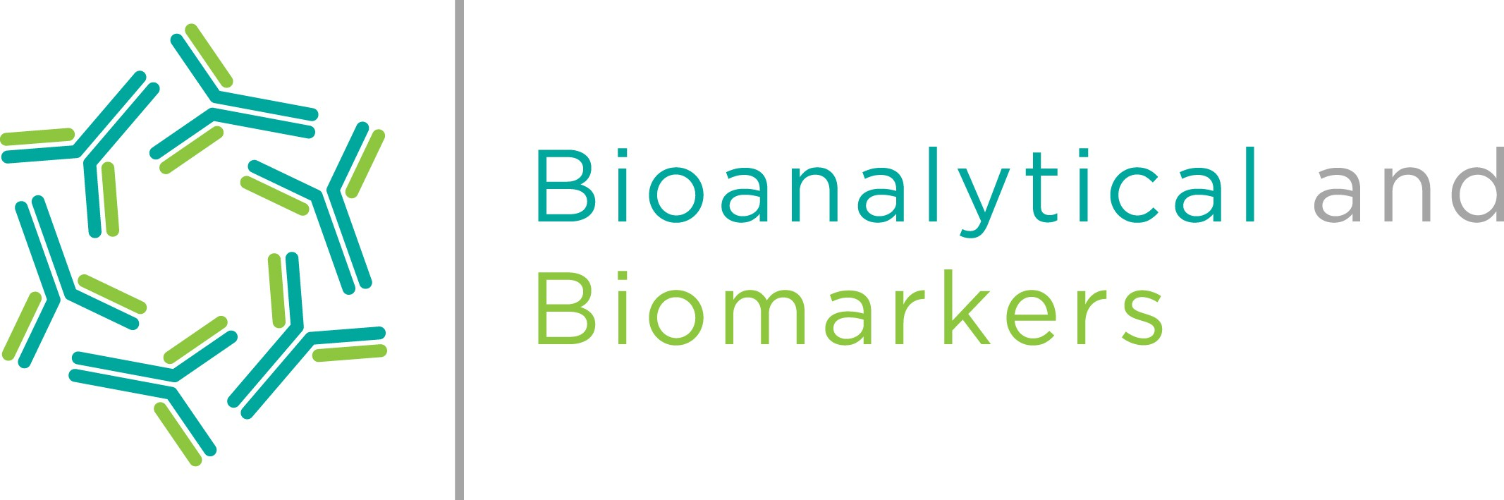 Bioanalytical and Biomarkers Logo Design