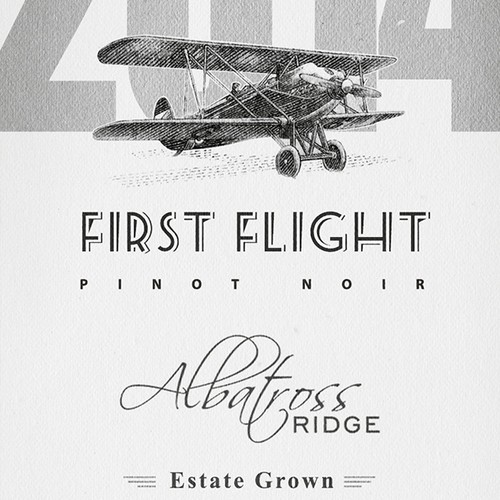 Label for Wine First Flight