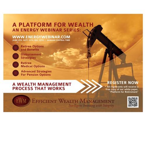 A Webinar Series Flyer