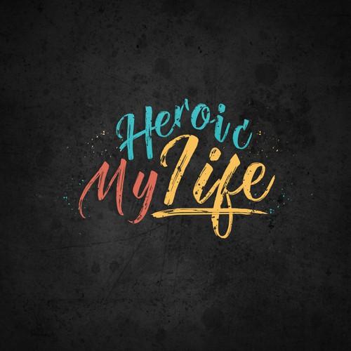 My heroic life logo design