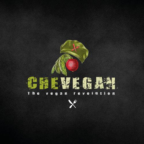 logo design for CheVegan