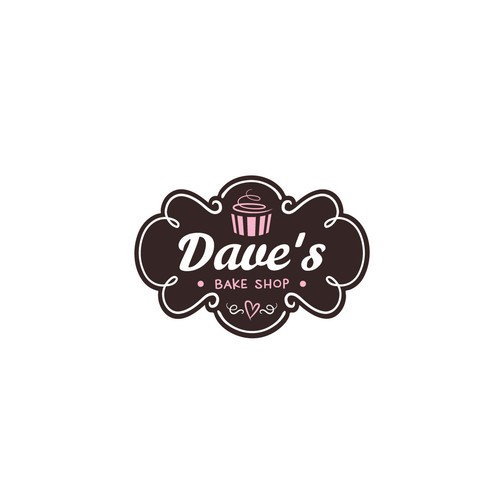 logo for Dave's bake shop