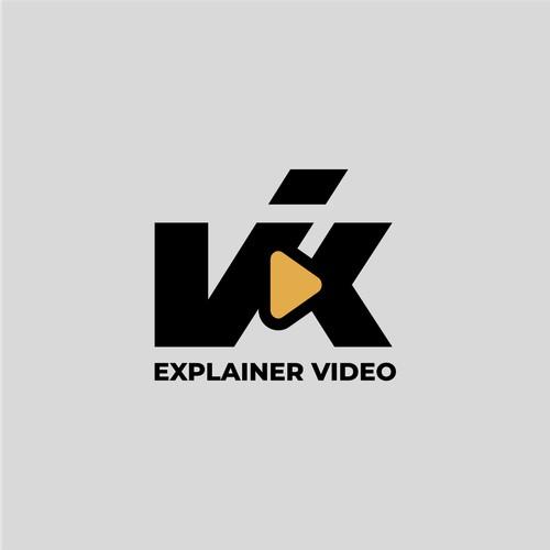 VIK Monogram Logo Concept
