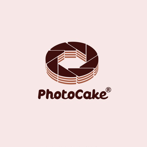 Simple logo concept for cake decoration company