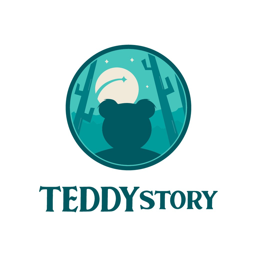 Design a website logo and brand guide for Teddy Story, a Grant for the Web awardee website