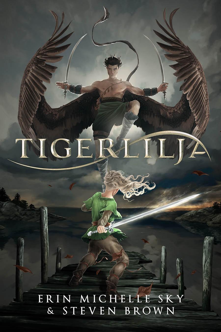Tigerlilja cover - full color