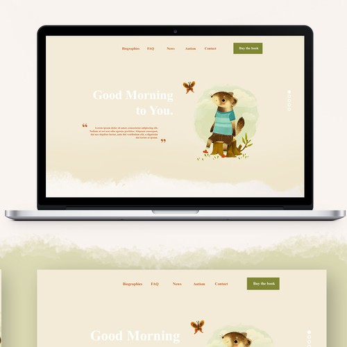 Web design for children book