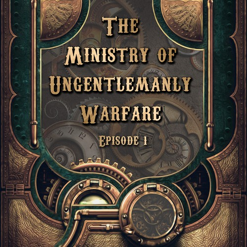 Steampunk Fantasy eBook Cover