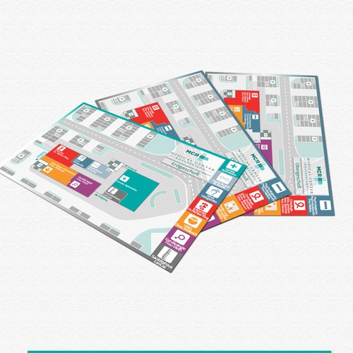 Flyer/Map for Private Hospital