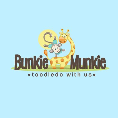 Logo design for a babycare brand