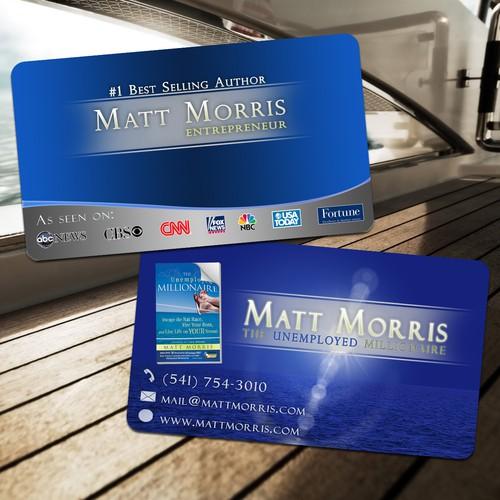Matt Morris needs a new stationery