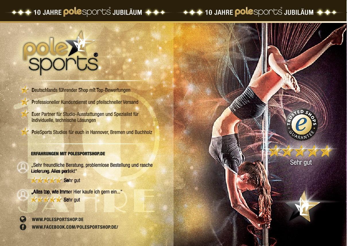 Printwerbung für Magazin | Thema Pole Dance