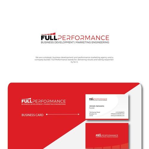 FULL-PERFORMANCE - logo and design