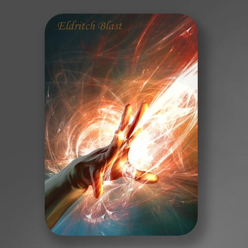 Eldritch Blast Card Illustration