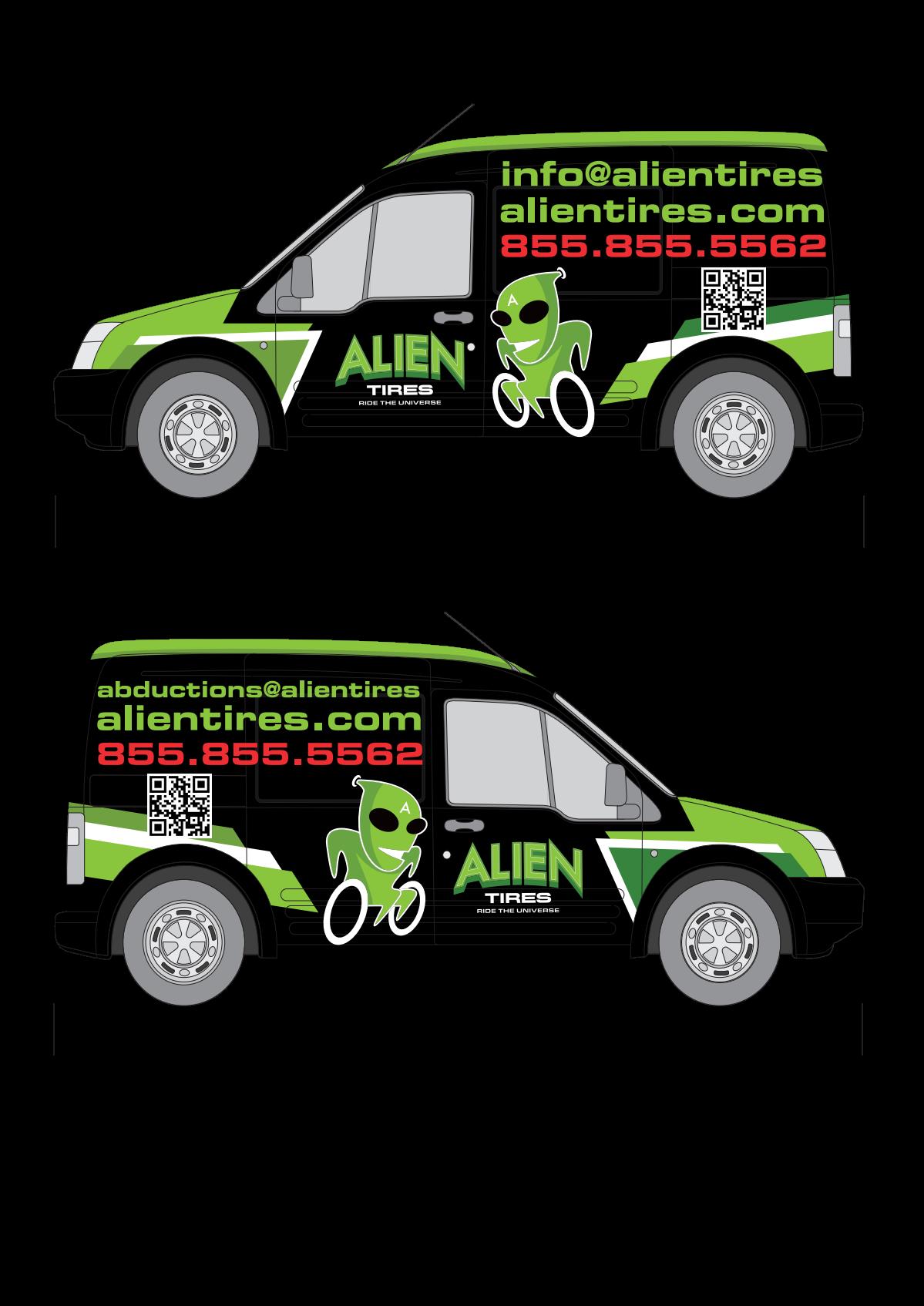 Alien Van Wrap Project