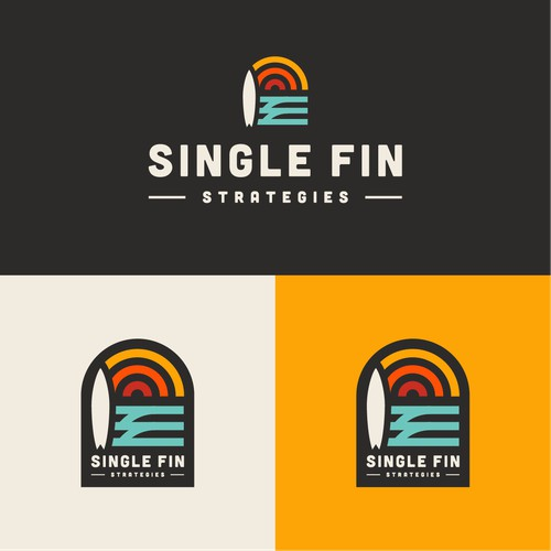 Bold logo for Single Fin