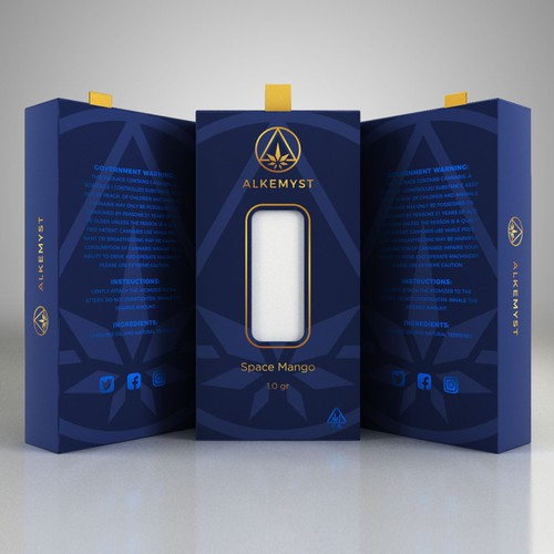 Alkemyst Packaging Design Concept