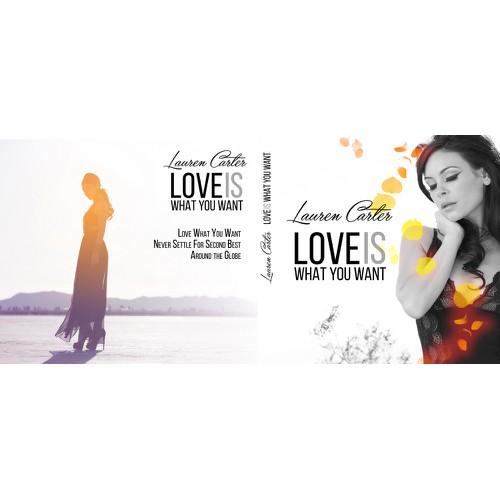CD Cover for female artist