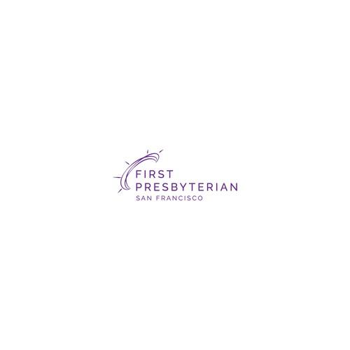 Church logo modern and minimal