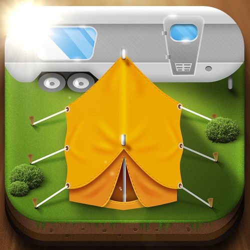 Design new icon for a top 10 travel app