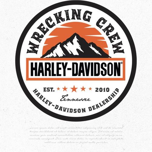 Wrecking Crew Harley Davidson