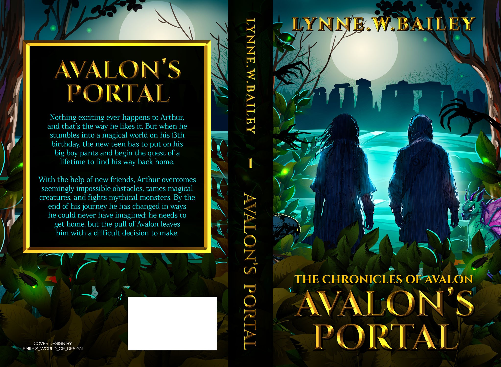 Book cover for Avalon's Portal