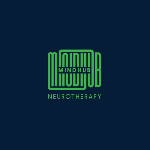 Logo design for MindHub Neurotherapy